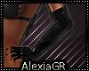[A] Pvc Black Gloves