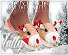 ` xmas slippers F [drv