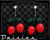!D! Cherry Earrings