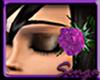 Sparkling purple flower