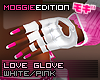 ME|LoveGlove|White/Pink