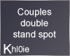 K couples stand spot