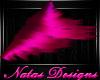 pink passion leg tuft