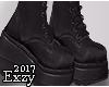 E! Platform Boots.