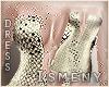 [Is] Gold Stardust Dress