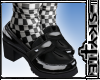 Loafers + Socks Checkers