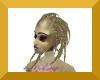 Female anyskin dreads