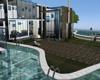 stunning glass pool home