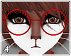 A| Misa Red Glasses