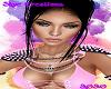 -S- Pink Shoulder Spikes