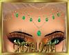 Gold emerald jewels