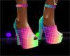 z^ heel shoes mesh