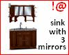 !@ Corner sink