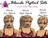 *G* Blonde Low Pigtails