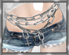 *D Cross Belly Chain