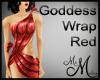MM~ Goddess Wrap -Red
