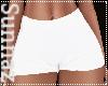 (S1) White Summer Shorts