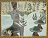 SNOWY MUSHROOMS SEATS