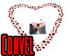 Romantic Heart Kiss