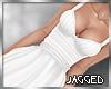 Arya dress white