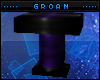 Purple Poseless Pedestal