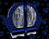 SL Deco Blue Cabinet