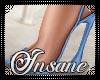 Mila Blue Heels