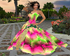 PP|Elegance Neon Gown