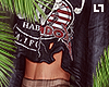 Ripped Band Crop Sweater