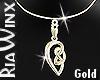 Celtic Love Knot V1-Gold