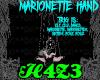*H4*MarionetteHand M/F
