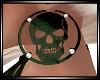 Army Skull Diam Earrings