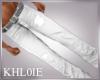 K white jeans M