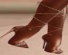 Rose Gold Tropic Heels