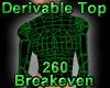 Derivable Skin Tight Top
