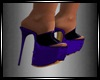 Layla Purple Shoes