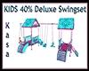 KIDS 40% Deluxe Swingset