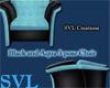 SVL*Aqua/Blk 3poseChair