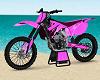 Pink Wave Dirt Bike
