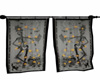 Skeleton Curtains