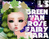 Green Tan Fairy Tiara
