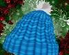 Blue Xmas Knit Hat