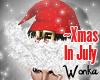 W° Xmas In July Hat .M