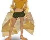 gold shawl