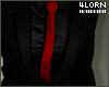 Black Suit Red Tie