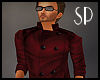 SP LeatherWindbreaker RD