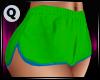 Karlie Shorts Green/Blue