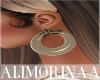 *A* Cute Beige Earrings