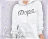 dope hoodie   m
