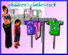 childrens clothes rack